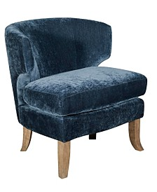 Elle Décor Marais Barrel Arm Chair, Quick Ship