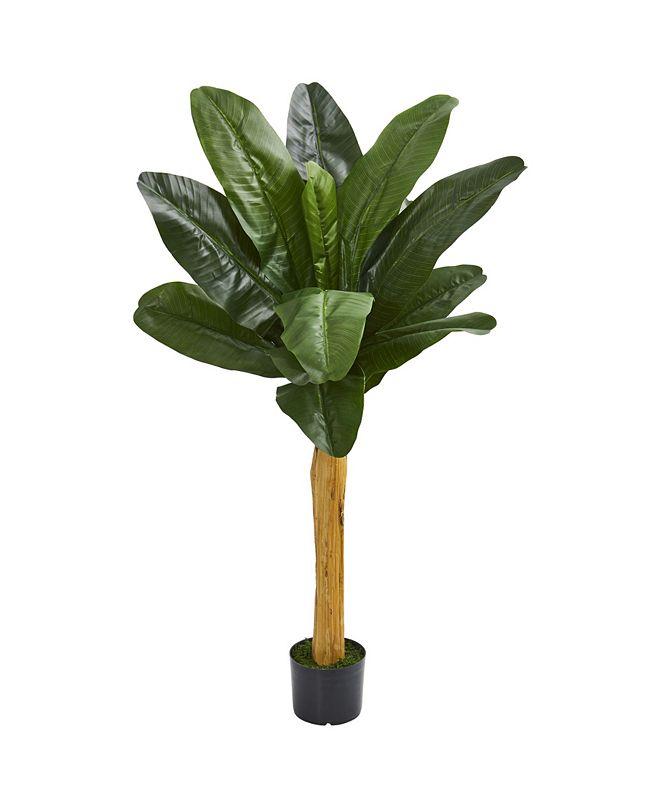 """Nearly Natural 52"""" Banana Artificial Tree"""