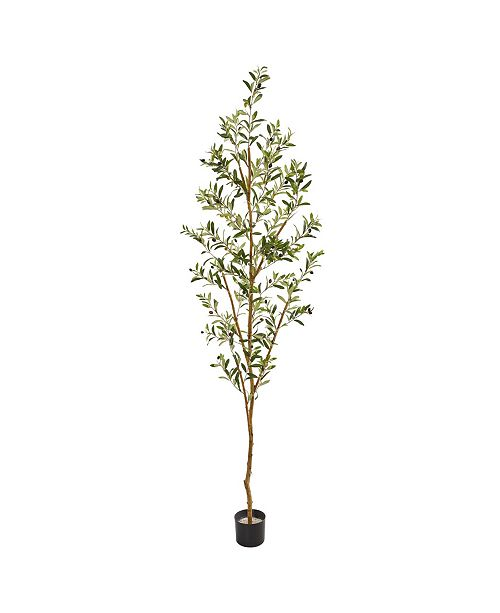 "Nearly Natural 82"" Olive Artificial Tree"