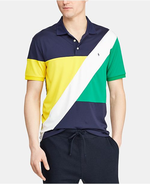 Polo Ralph Lauren Men's Chariots Classic Fit Performance Polo