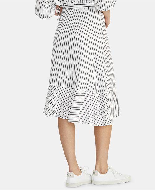 ce5136e17 RACHEL Rachel Roy Esta Striped Ruffled Skirt & Reviews - Skirts ...
