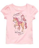 73771943e3 Epic Threads Little Girls Mermaid & Unicorn Graphic T-Shirt, Created for  Macy's
