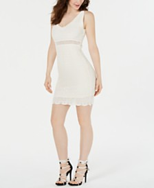 GUESS Sleeveless Shaina Crochet Dress