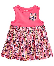 First Impressions Baby Girls Animal-Print Tunic, Created for Macy's