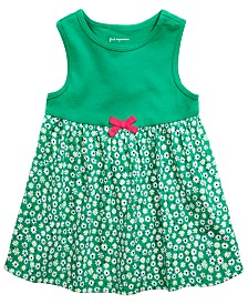 First Impressions Baby Girls Daisy-Print Tunic, Created for Macy's