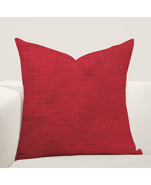 "Siscovers Merino Cherry 20"" Designer Throw Pillow"