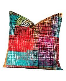 Etch Designer Throw Pillow
