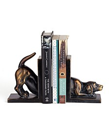Labrador Dog Bookend Set
