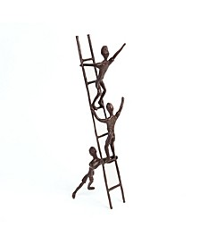 Children on a Ladder Cast Bronze