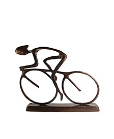 Large Cyclist Sculpture