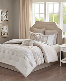 510 Design Ramsey Queen Embroidered 8 Piece Comforter Set