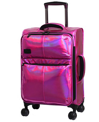 "Spellbound 22"" Holographic Expandable Carry On Spinner Suitcase by General"