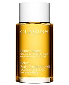 "Clarins Body Treatment Oil ""Relax"", 3.4 oz."