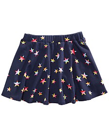 Epic Threads Little Girls Star-Print Scooter Skirt, Created for Macy's