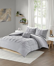 Intelligent Design Casey Full/Queen 4 Piece Duvet Cover Set