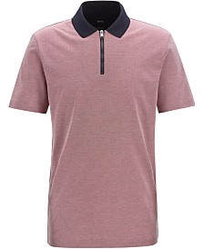 BOSS Men's Paras 01 Regular-Fit Cotton Polo Shirt