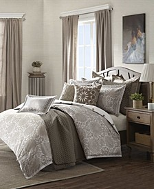 Madison Park Signature Sophia King 9 Piece Comforter Set
