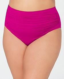 Plus Size High-Waist Swim Bottoms