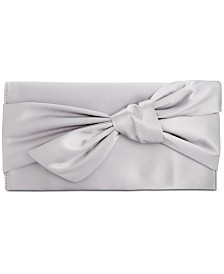 I.N.C. Bowah Hands Through Satin Clutch, Created for Macy's