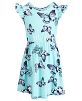 35e633ef56f28 Epic Threads Little Girls Butterfly-Print Flutter-Sleeve Dress, Created for  Macy's