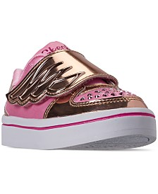 Skechers Toddler Girls' Twinkle Toes: Twi-Lites Fashion Flyers Casual Sneakers from Finish Line