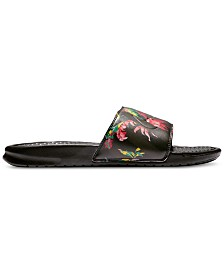 8703023e5c5b22 Nike Men s Benassi JDI Print Slide Sandals from Finish Line