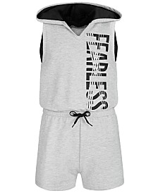 Ideology Big Girls Hooded Romper, Created for Macy's