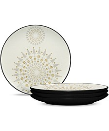 Colorwave Graphite Holiday Plates - Set of 4