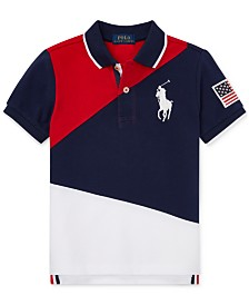 Polo Ralph Lauren Little Boys Colorblocked Cotton Polo