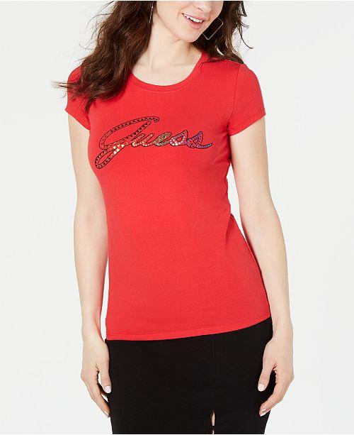 GUESS Script Logo T-Shirt