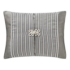 """Waterford Celine Dove Grey 16"""" X 20"""" Collection Decorative Pillow"""