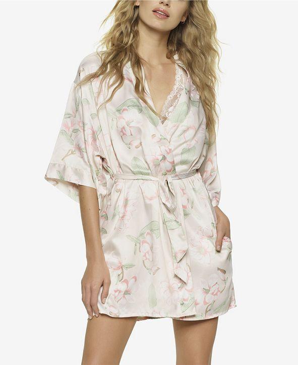 Jezebel Muse Satin Wrap Robe, Online Only