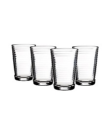 Pasabahce Doro 7 Ounce Juice Glass Set In Clear, Set Of 4