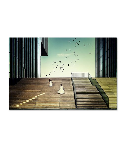 "Trademark Global Dennis Mohrmann 'Free Like A Bird' Canvas Art - 24"" x 16"" x 2"""