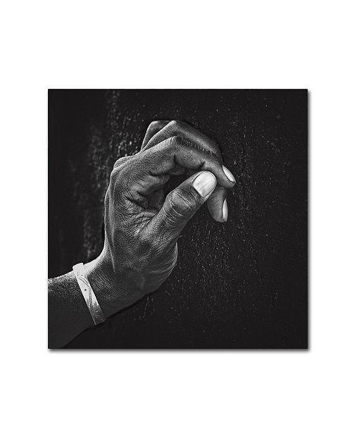 """Trademark Global Piet Flour 'The Patient Husband' Canvas Art - 24"""" x 24"""" x 2"""""""