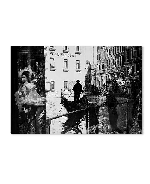 """Trademark Global Sasa Krusnik 'Venice Reflections' Canvas Art - 24"""" x 16"""" x 2"""""""
