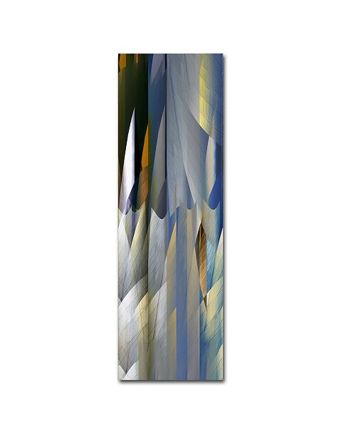 "Trademark Global David Jordan Williams 'Geary 3' Canvas Art - 24"" x 8"" x 2"""