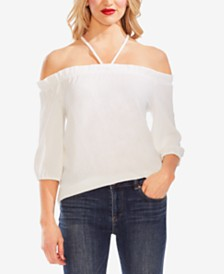 Vince Camuto Tie-Back Off-The-Shoulder Top