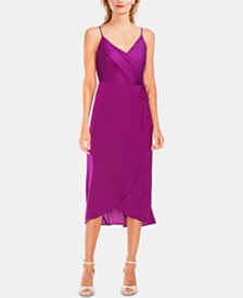 Vince Camuto Wrap Slip Dress