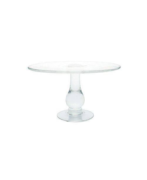 Canvas Home Small Glass Cake Stand