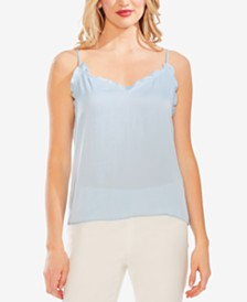 Vince Camuto Ruffled-Edge Cami Top
