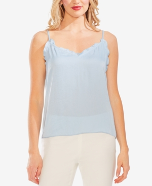 Vince Camuto Tops RUFFLED-EDGE CAMI TOP