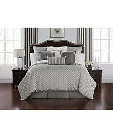 Celine Dove Grey Bedding Collection