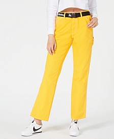 Belted High-Rise Carpenter Pants