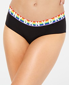 DKNY Rainbow Logo Classic Boyshort DK5005, Created For Macy's