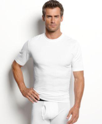 men's tagless slim-fit 3-pack crewneck Undershirt