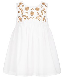 First Impression's Baby Girl's Embroidered Dress Set, Created for Macy's