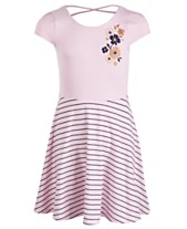 74506107fb00 Epic Threads Big Girls Flower Striped Dress, Created for Macy's