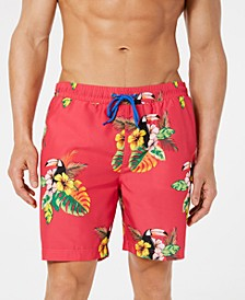 "Men's Toucan Quick-Dry 7"" Swim Trunks, Created for Macy's"