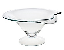 "Ceska Carousal 11"" Footed Bowl"